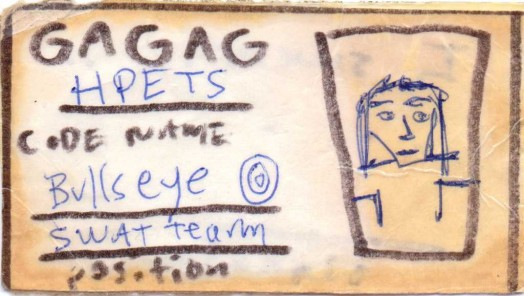 Willemain S. Rabins G.A.G.A.G. membership card1994