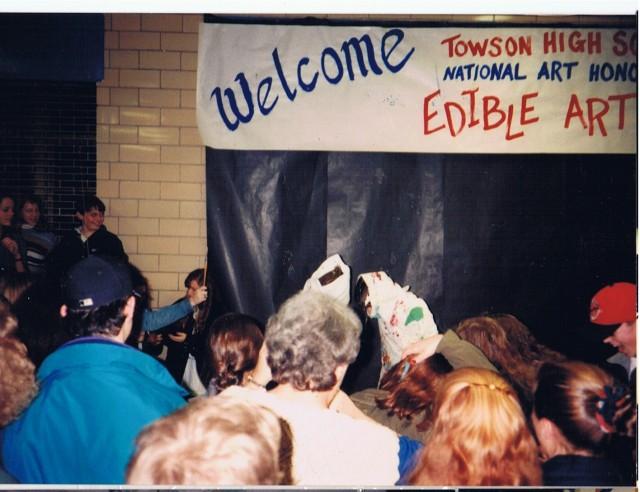Lou Thomas and Spence edible art 2 feb 94 (2)