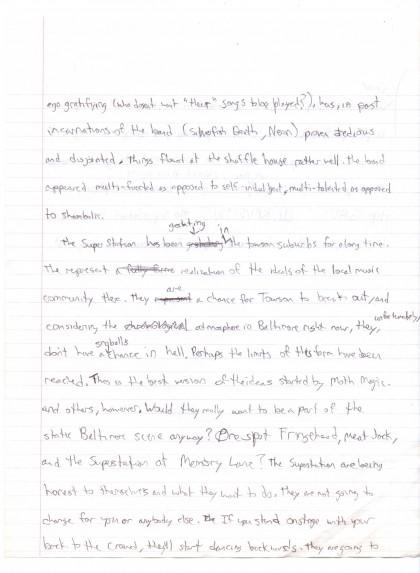 towson application essay