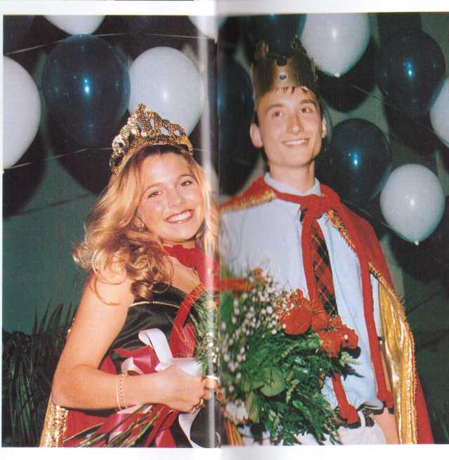 tgaf Lauren Bereska (creator of Into The Light 1994 Sequel illustration) w. Jason Zahorchak DHS Homecoming 1997