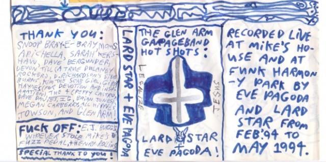 Lard Star-Eve Pagoda Front Tape Cover Original