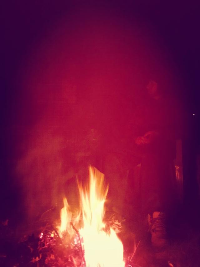 TEAM magic fire aura
